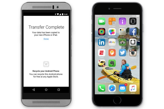 Apple Made An Android App That Helps People Switch To Ios The Verge
