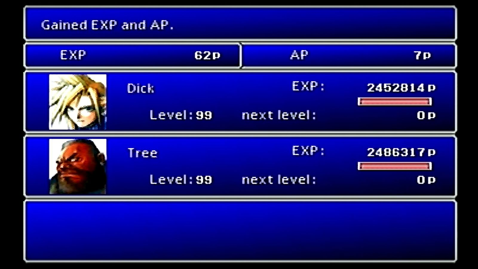 Final Fantasy VII Player Gives Life Meaning By Hitting Level 99 Before First Boss The Verge