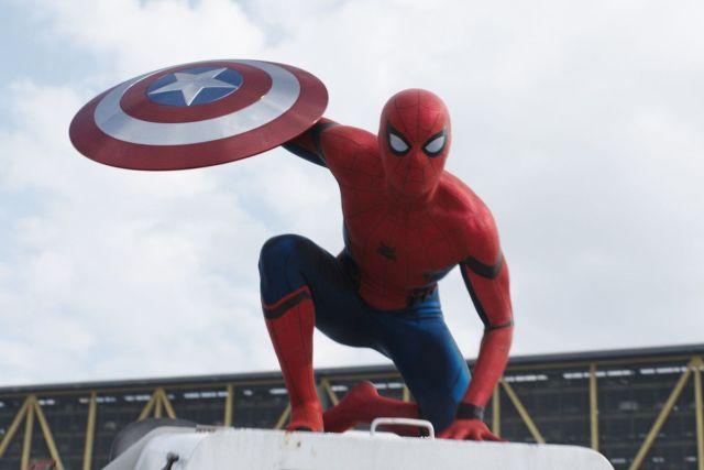 Image result for captain america civil war spiderman
