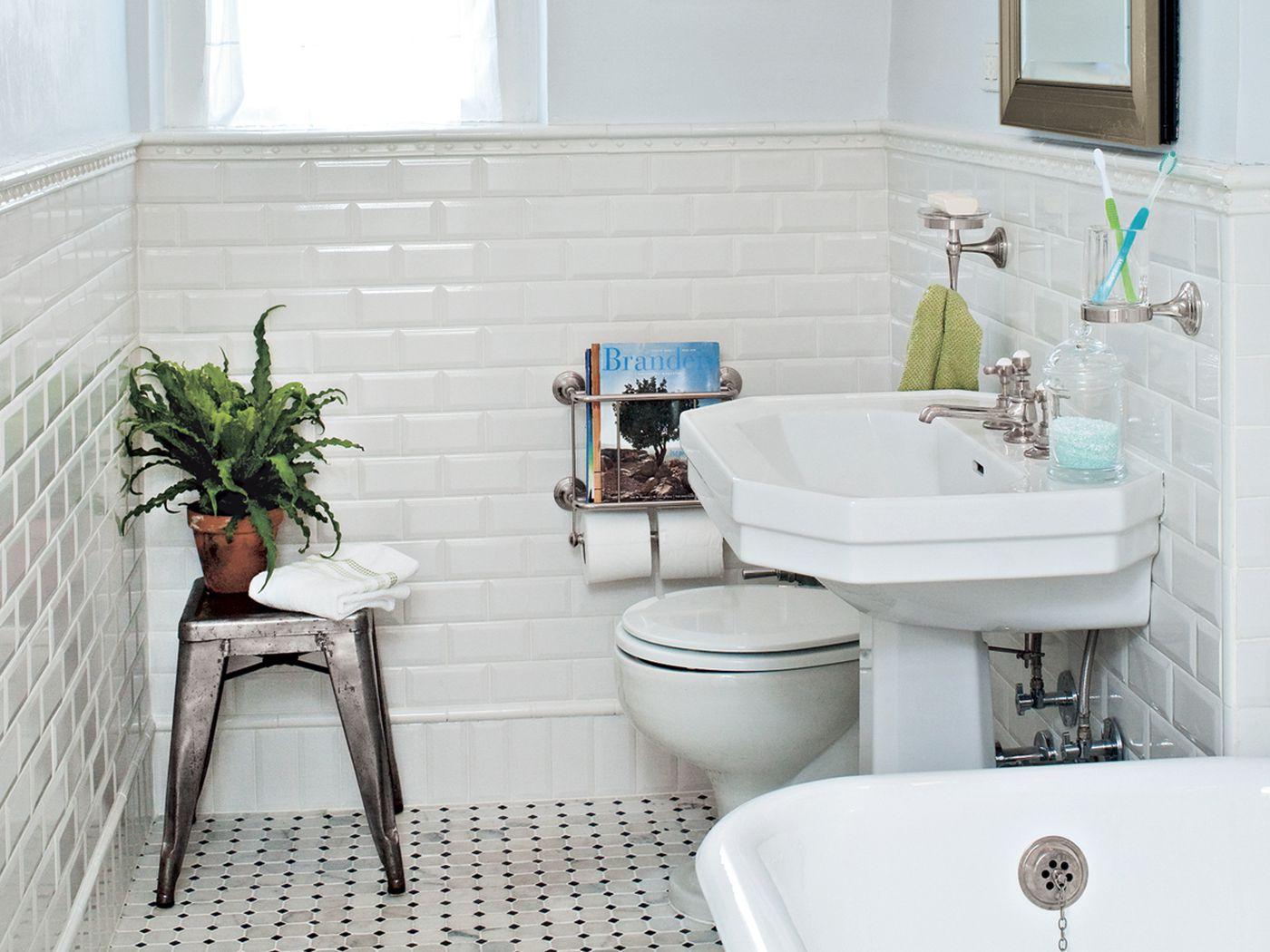 bath gets a classic redo 1920s style