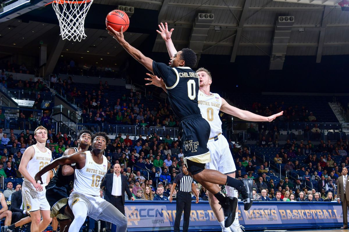 How to Watch: Wake Forest Demon Deacons (12-15, 5-12) vs Notre Dame Fighting Irish (18-10, 9-8) (Time, TV Channel, Online Streaming, Odds) - Blogger So Dear