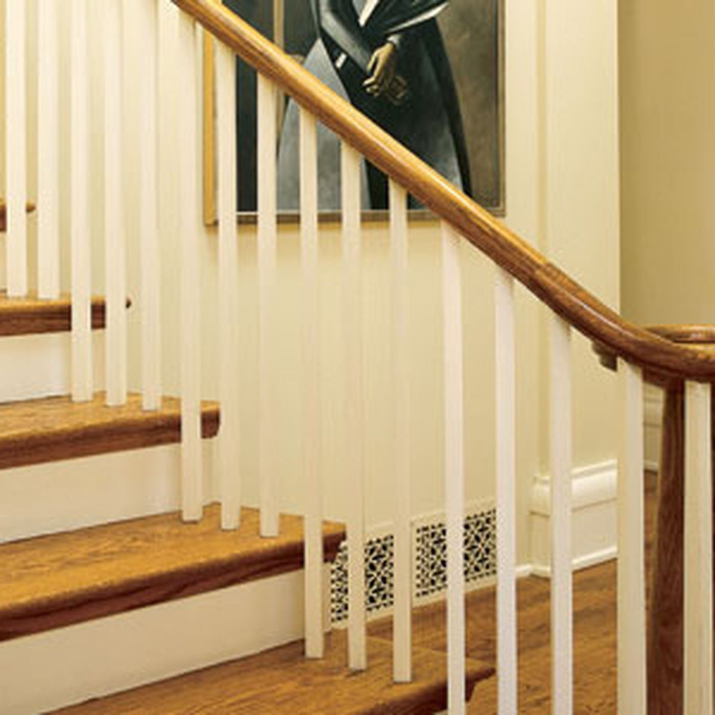 6 Ways To Make A Bland Staircase Grand This Old House | Wooden Stair Railing Prices | Staircase Ideas | Deck Railing | Frameless Glass | Steel | Glass Stair