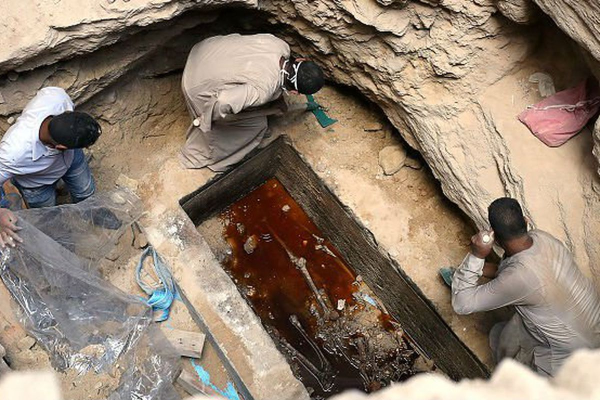 The Black Mystery Sarcophagus Was Opened And Now People