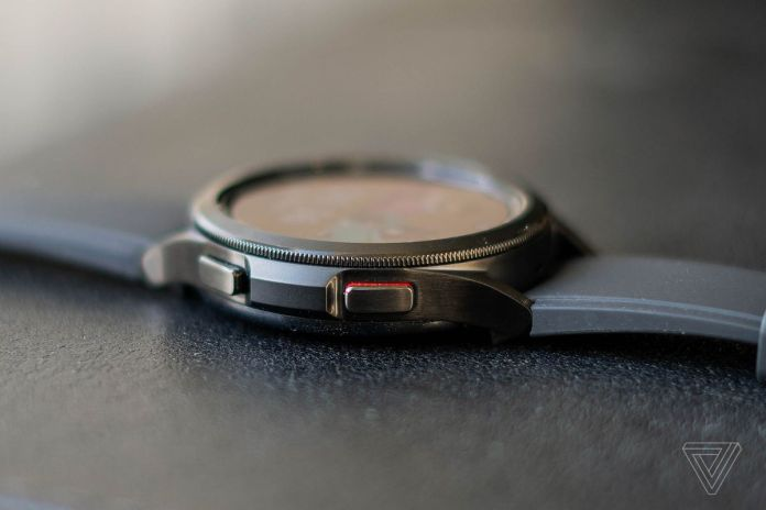 The Galaxy Watch 4 Classic has a rotating bezel