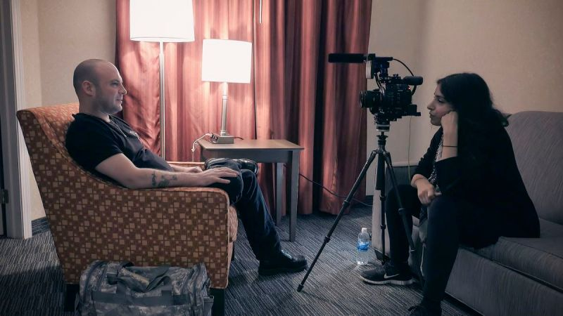 Filmmaker Deeyah Khan sits down with white supremacist in White Right: Meeting the Enemy.