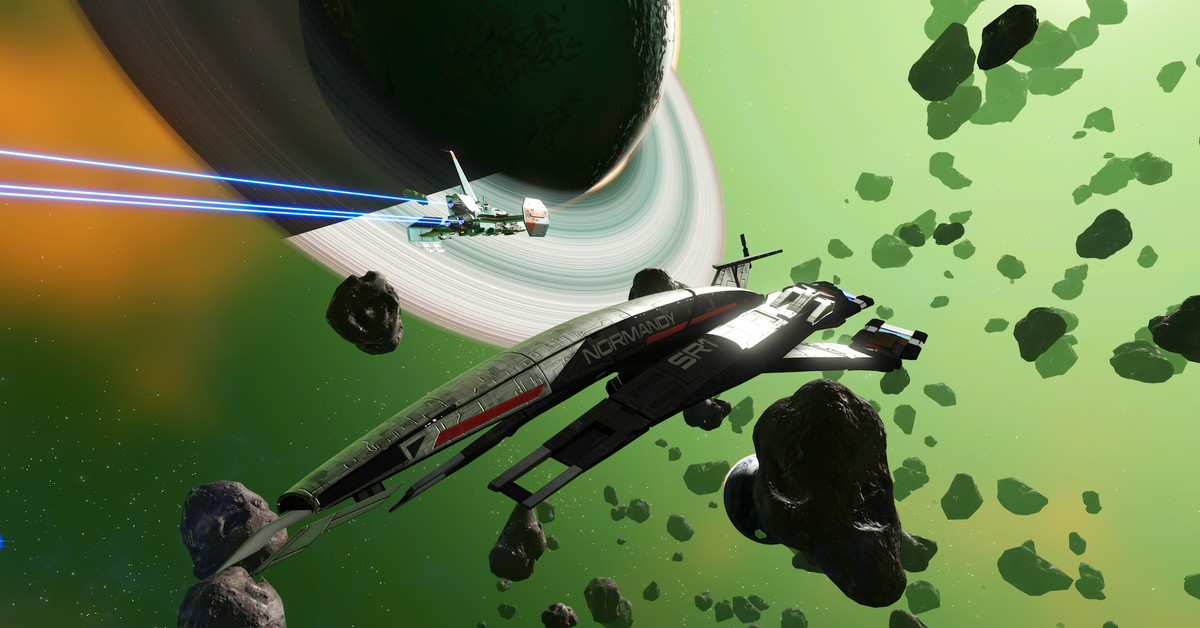 Mass Effect's legendary Normandy starship is coming to No Man's Sky, if you snag it soon