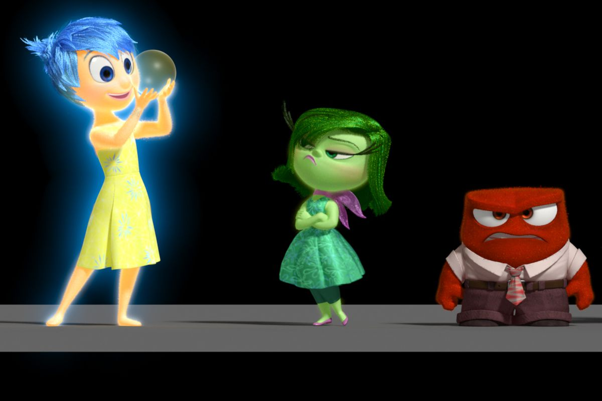 Chart How Inside Out S 5 Emotions Work Together To Make