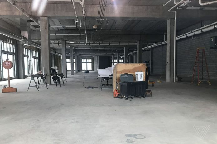 "The empty Foxconn ""innovation center"" in Eau Claire in April 2019"