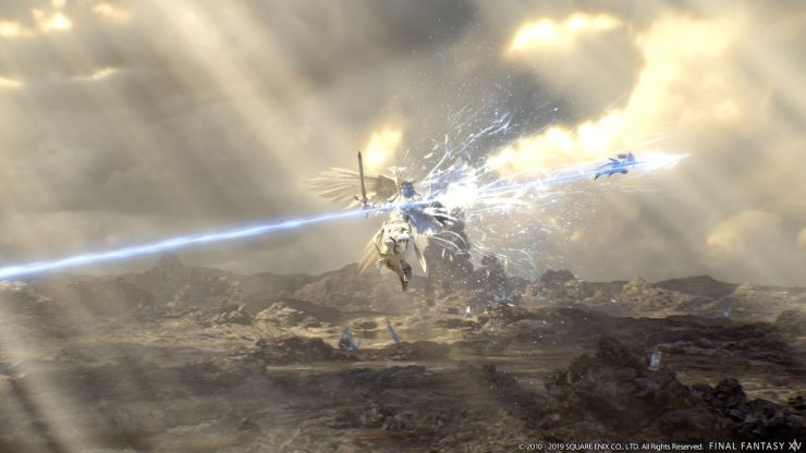 floating enemy attack in Final Fantasy 14: The Greenbringer