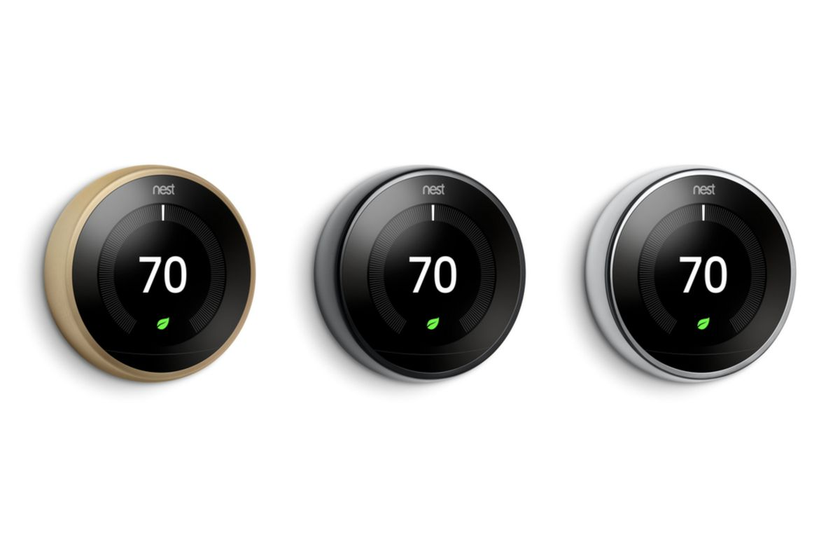 Nest's Smart Thermostat Now Comes In Three New Colors