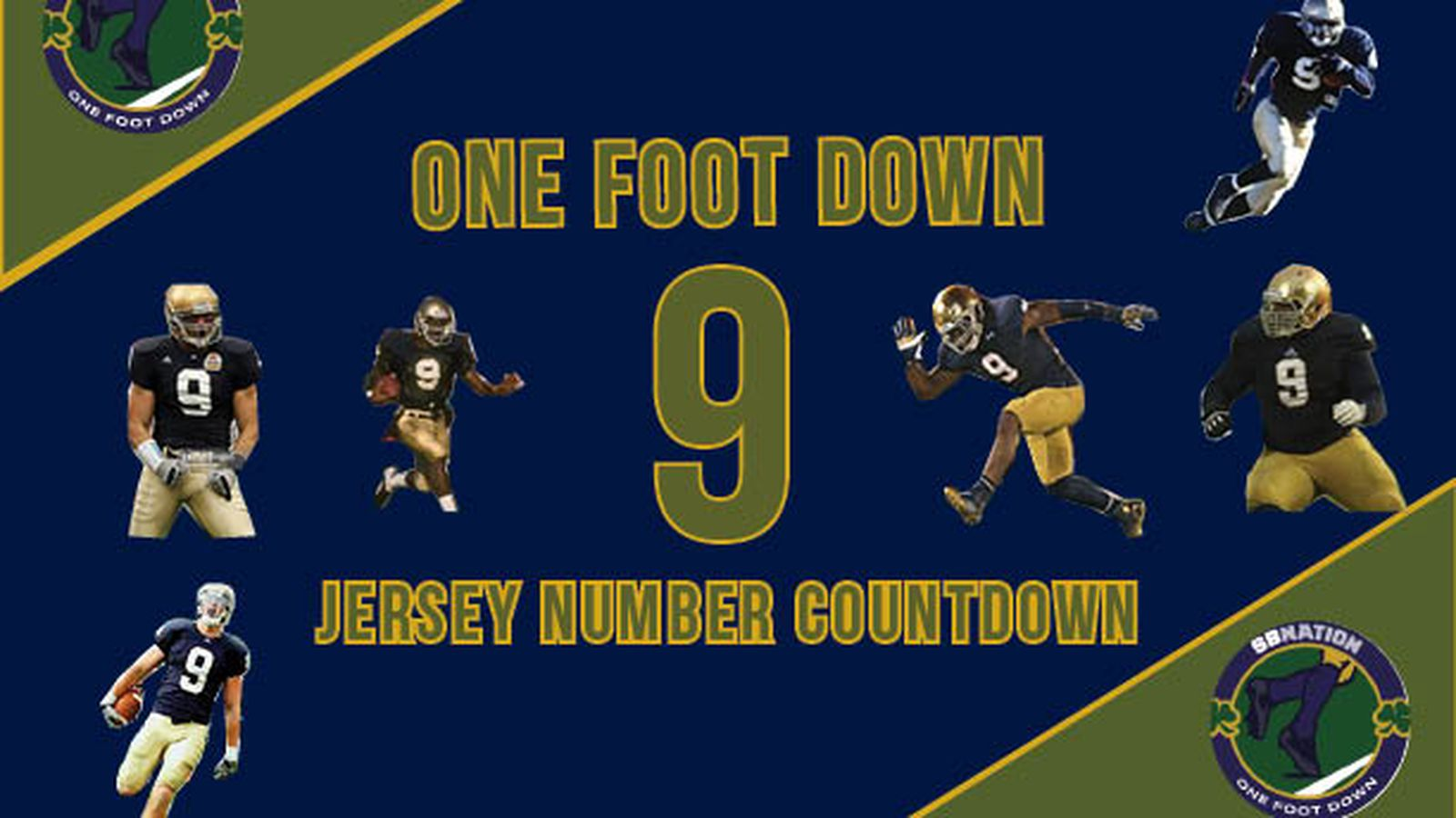 Notre Dame Football Jersey Number Countdown
