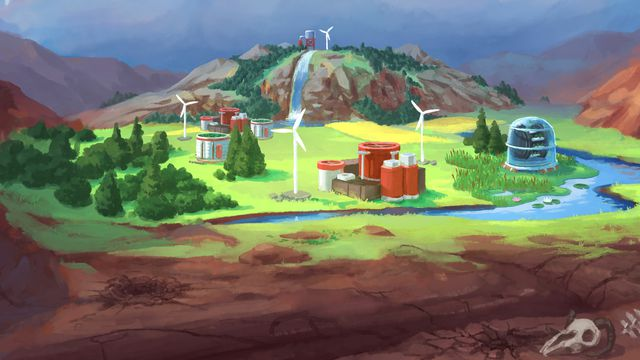 Terra_Nil_Key_Art_cropped.0 Terra Nil is a beautiful 'reverse city-builder' from the developer behind Broforce | Polygon