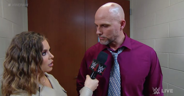 Adam Pearce explains the whole 'declaring for the Royal Rumble' thing