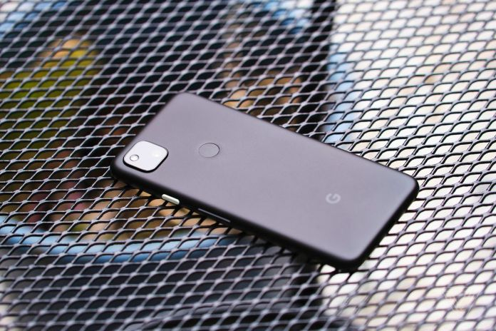 The Google Pixel 4A is made out of plastic.