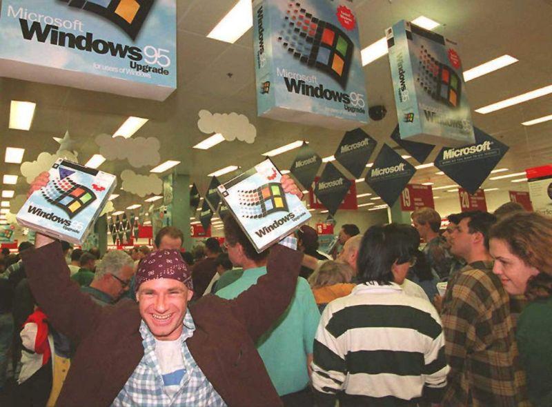 Risultati immagini per windows 95 man buy