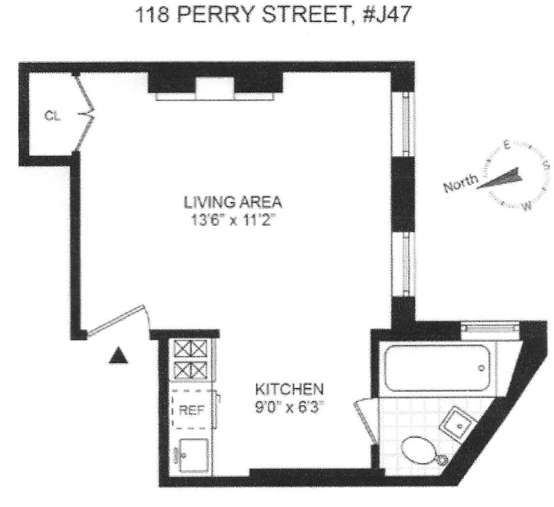 For 495k A Petite But Homey West Village Studio