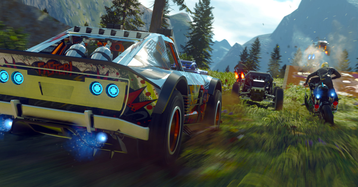 Onrush Is A Racing Game For People Who Love Overwatch