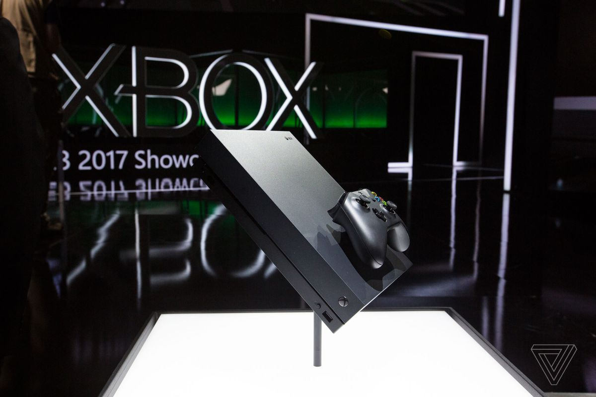 Why Microsoft Didnt Turn Xbox One X Into A Windows 10 Gaming PC The Verge