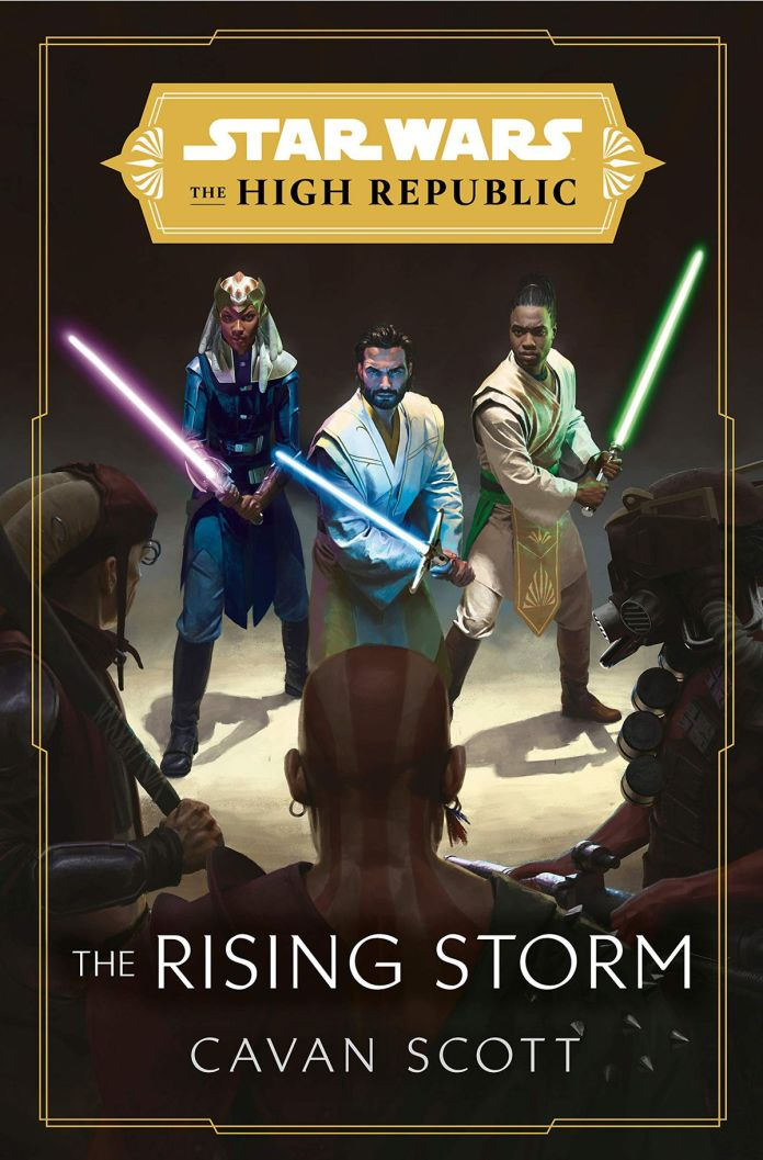 Star Wars: The High Republic - The Rising Storm book cover