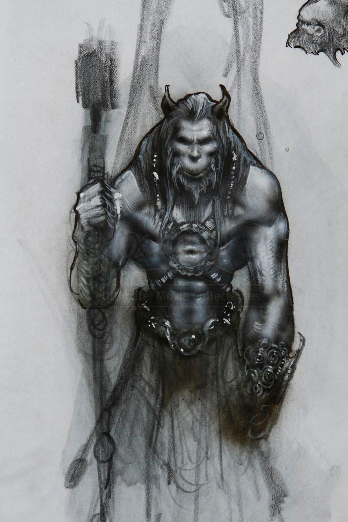 An orc like version of Goliath the gargoyle
