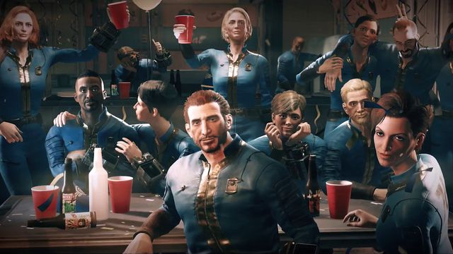 fallout_76_vault_party_1920.0 Fallout 76 will get custom worlds this September | Polygon