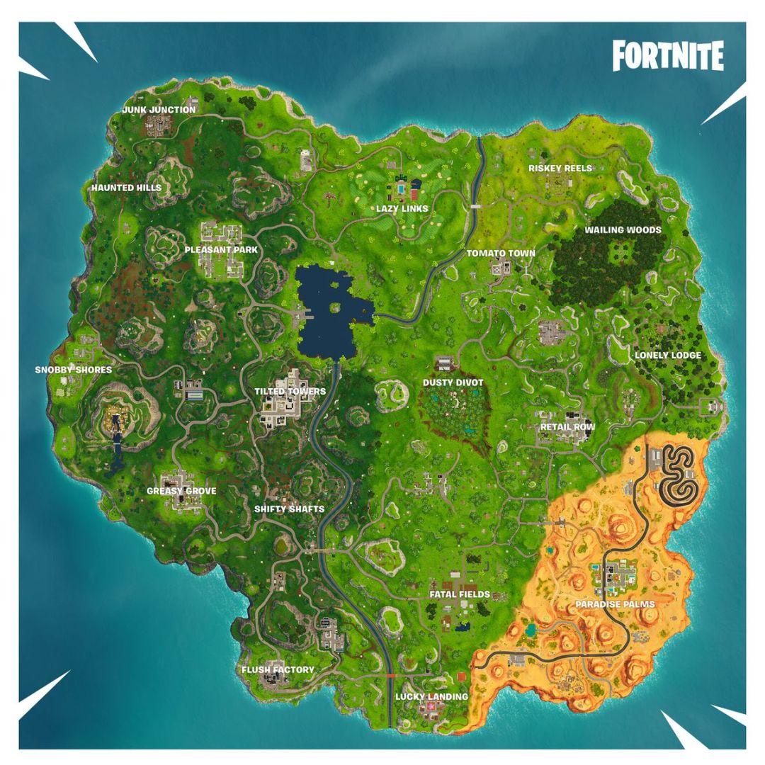 Mapa Fortnite