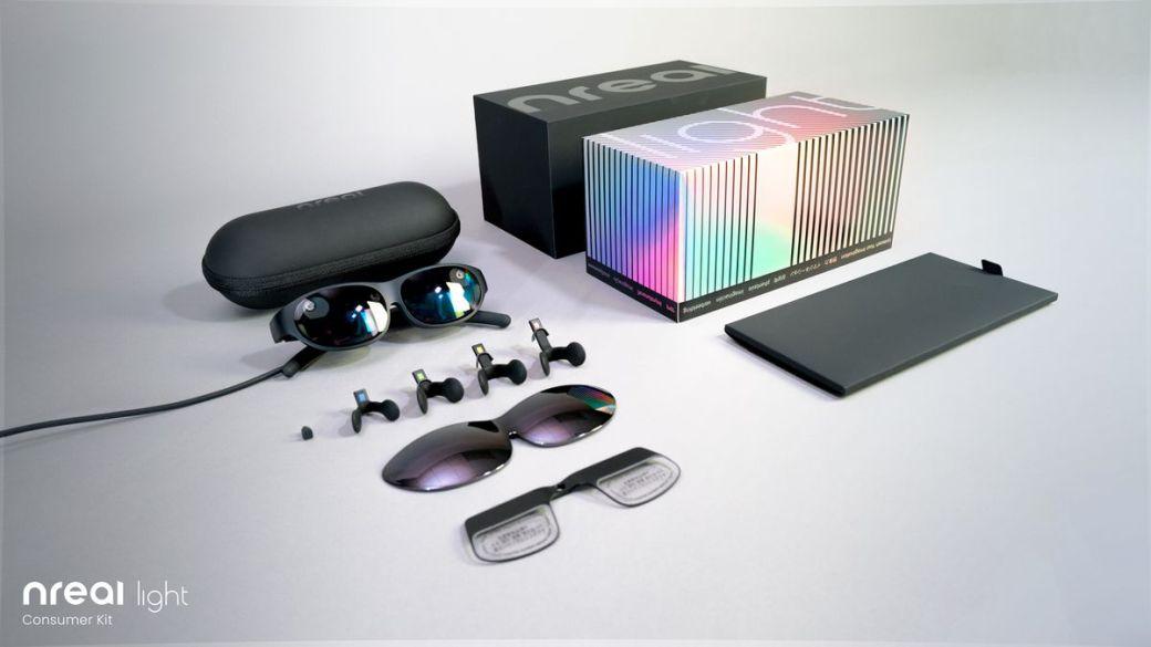 Nreal Light glasses consumer bundle