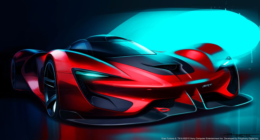 Here Is The Ridiculous 2590 Horsepower SRT Tomahawk Hypercar Coming In 2035 The Verge