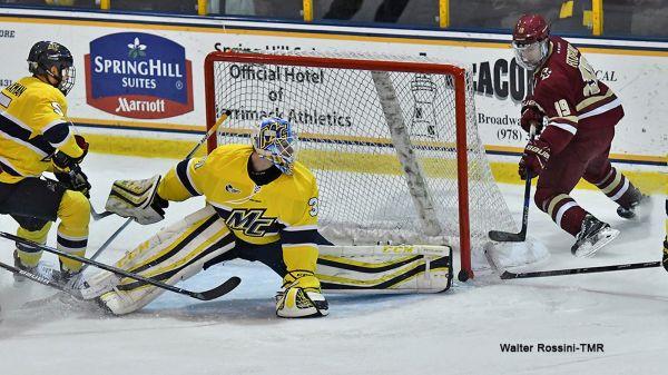 GOAL BY GOAL: Penalties Sink BC Men's Hockey In 2-2 Tie At ...