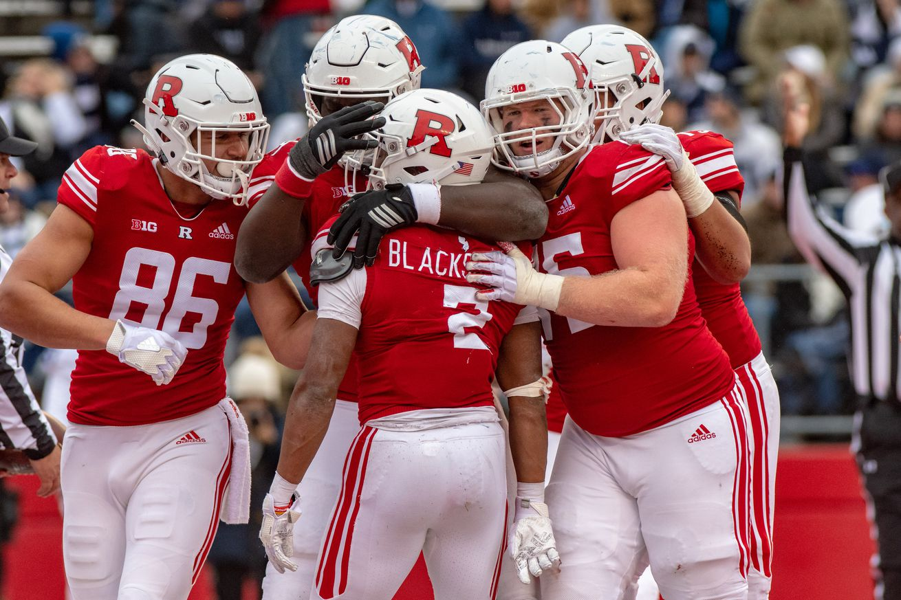 COLLEGE FOOTBALL: NOV 17 Penn State at Rutgers