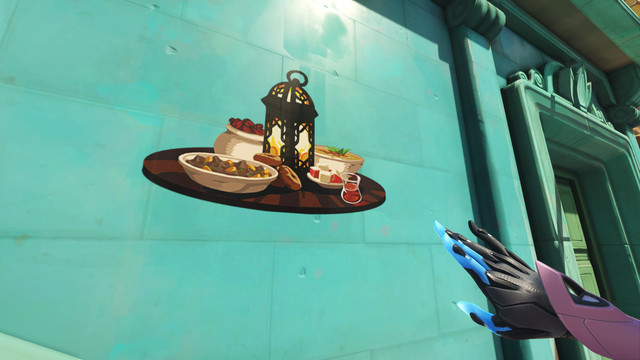 d2fsWAV.0 Overwatch anniversary event offers two new Ramadan sprays | Polygon