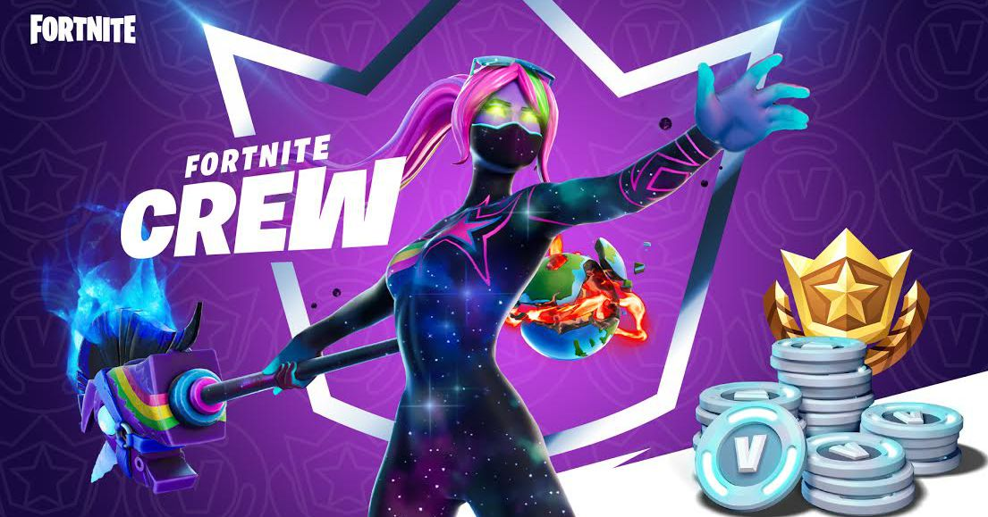 Fortnite Crew: a monthly  subscription for exclusive in-game items