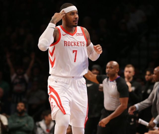 Carmelo Anthonys Brief Rockets Tenure Is Over After A Money Saving Trade To The Bulls