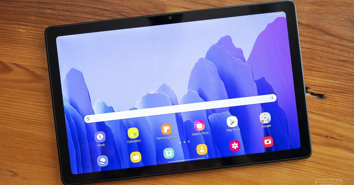 Samsung Galaxy Tab A7 review: a great cheap tablet