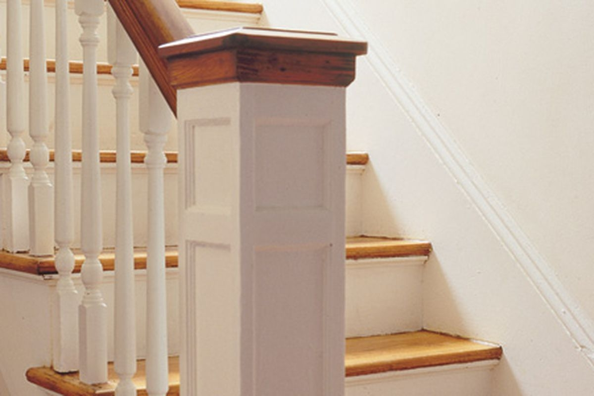 How To Replace A Baluster This Old House | Replacing Stair Railing And Spindles | Paint | Newel Post | Iron Spindles | Wood Balusters | Stair Treads