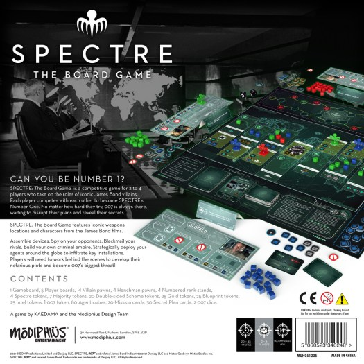 New James Bond board game will turn players into SPECTRE supervillains 2