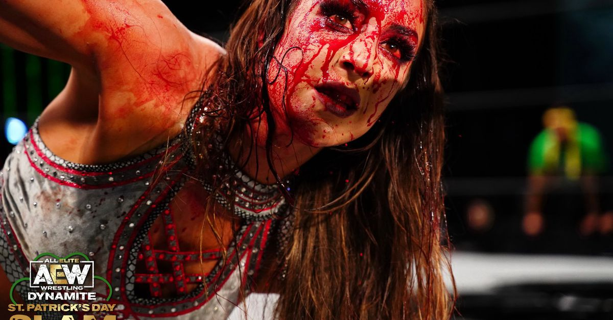 Women main evented Dynamite for the first time ever in a bloodbath