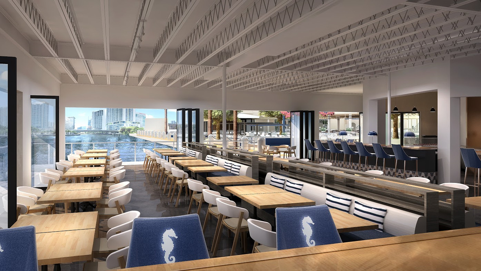 River Yacht Club Will Bring Seafood And Mega Boats To The
