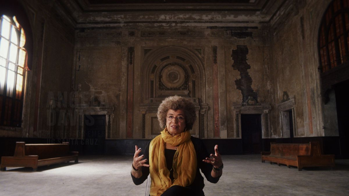 Political activist, author, and academic Angela Davis.