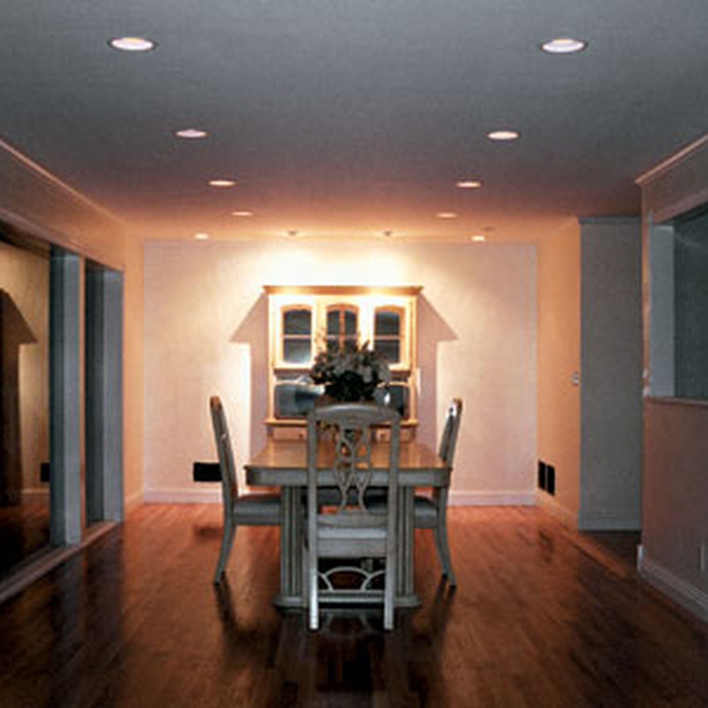 installing recessed lights this old house