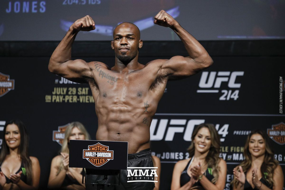 Jon Jones Doping Hearing In Front Of CSAC Officially Set