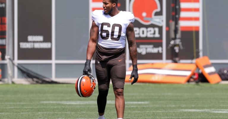 Watch Browns signal OT Alex Taylor to the energetic roster – Google NFL News