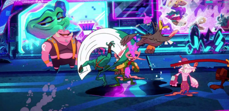 Battletoads comes back to Xbox One as a three-player beat-em