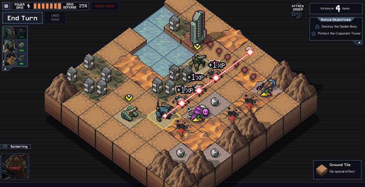 Into the Breach - laser attack
