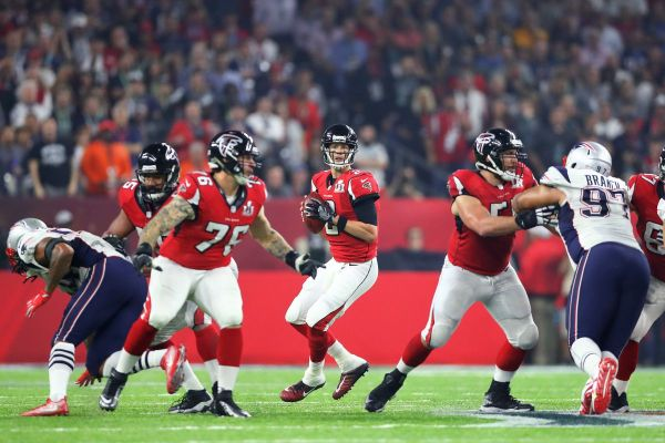 Falcons vs. Patriots Sunday Night Football open thread and ...