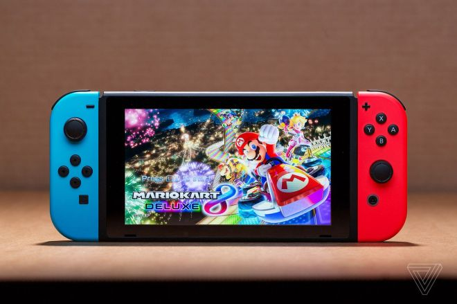 jbareham_180301_2346_nintendo_switch_0034_mario.0 Nintendo's Switch with better battery life includes Mario Kart 8 Deluxe for Black Friday   The Verge