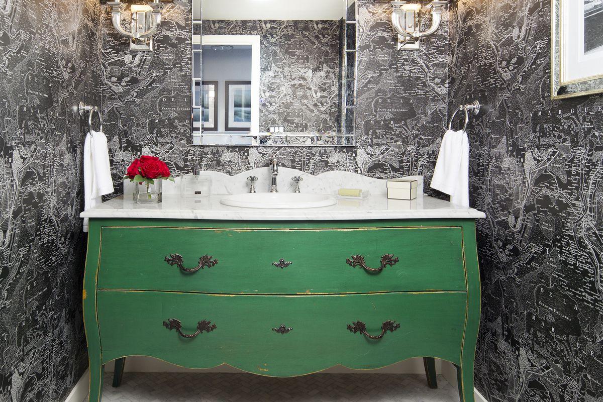 dresser bathroom vanity this old house