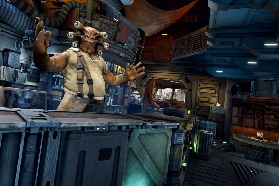 Star Wars: Tales from the Galaxy's Edge screenshot