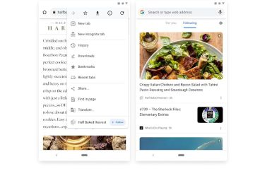 Google rediscovers RSS: tests new feature to 'follow' sites in Chrome on Android
