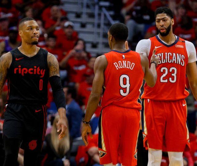 Nba Playoffs Trail Blazers Vs Pelicans Game  Preview Blazers